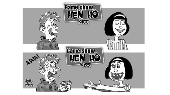 Game show Hẹn Hò kiss