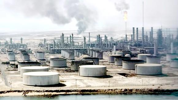 Một nhà máy lọc dầu tại Dharan của Saudi Arabia