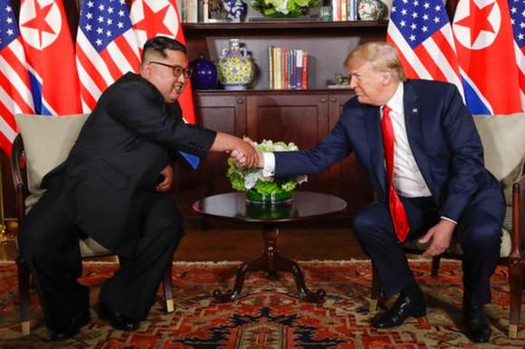 Hội nghị thượng đỉnh Mỹ - Triều Tiên: Lãnh đạo hai nước bắt đầu gặp nhau ảnh 4