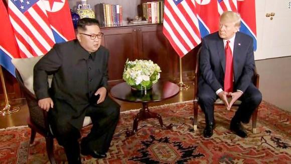 Hội nghị thượng đỉnh Mỹ - Triều Tiên: Lãnh đạo hai nước bắt đầu gặp nhau ảnh 3