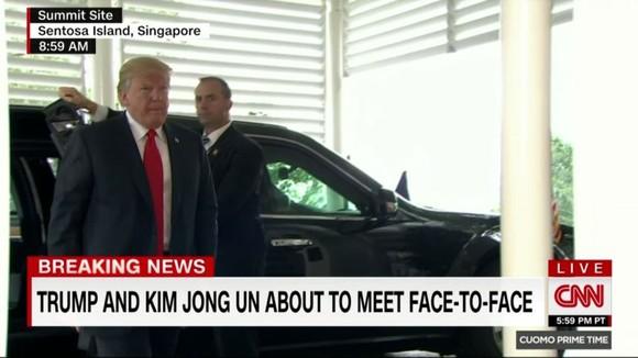 Hội nghị thượng đỉnh Mỹ - Triều Tiên: Lãnh đạo hai nước bắt đầu gặp nhau ảnh 11