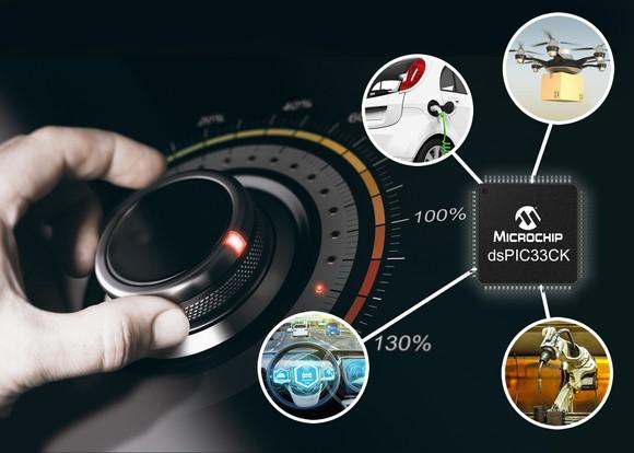 DSC mới giúp tăng hiệu năng cho các ứng dụng điều khiển cần đảm bảo các yêu cầu về thời gian ảnh 1