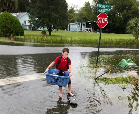 Florida tan hoang sau siêu bão Michael mạnh nhất kể từ năm 1992 ảnh 24