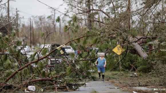 Florida tan hoang sau siêu bão Michael mạnh nhất kể từ năm 1992 ảnh 42