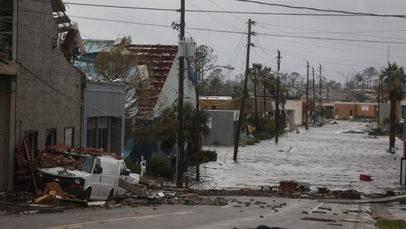 Florida tan hoang sau siêu bão Michael mạnh nhất kể từ năm 1992 ảnh 45