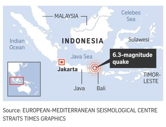 Lại xảy ra động đất mạnh ở Indonesia ảnh 1