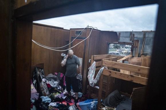 Florida tan hoang sau siêu bão Michael mạnh nhất kể từ năm 1992 ảnh 19