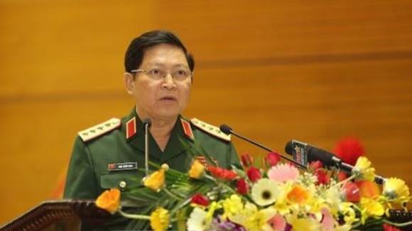 Đại tướng Ngô Xuân Lịch, Ủy viên Bộ Chính trị, Phó Bí thư Quân ủy Trung ương, Bộ trưởng Bộ Quốc phòng. Ảnh: TTXVN
