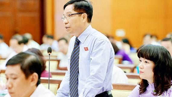 Ông Lê Nguyễn Minh Quang là trường hợp người ngoài Đảng được lãnh đạo TPHCM tin tưởng giao trọng trách Trưởng ban Quản lý đường sắt đô thị TP. Ảnh: VIỆT DŨNG
