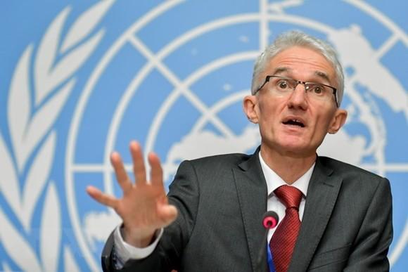 Phó Tổng thư ký LHQ phụ trách các vấn đề về nhân đạo và điều phối cứu trợ khẩn cấp Mark Lowcock