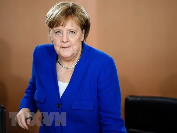 Thủ tướng Đức Angela Merkel. Ảnh: EPA-EFE/TTXVN