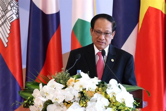 Mr. Le Luong Minh- Secretary general of ASEAN