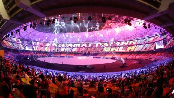 SEA Games 29 opened officially