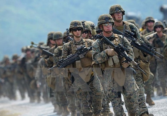 US soldiers participate in the Cobra Gold 2013 (Source: AFP/VNA)