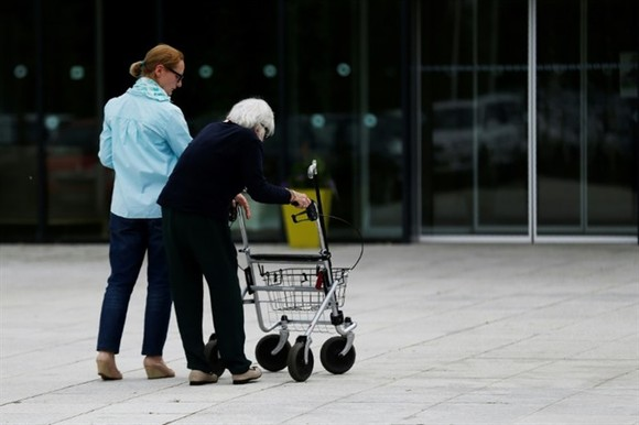Ageing populations and increasing longevity across Europe mean that the number of older people - with and without disability - is set to increase sharply. —AFP/VNA Photo