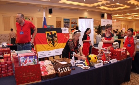 Consular Club of HCMC said the 23rd charity bazaar attracted thousands of people