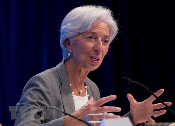 IMF Managing Director Christine Lagarde (Photo: Xinhua/VNA)