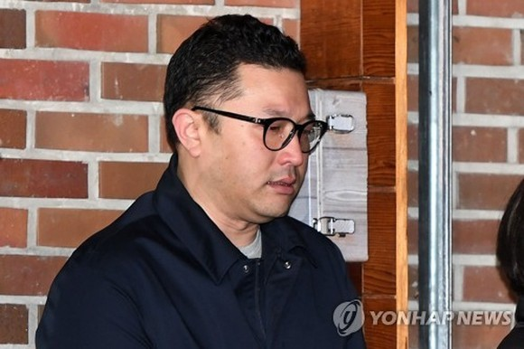 Lee Si-hyung, son of former President Lee Myung-bak, is shown in this file photo. (Yonhap)