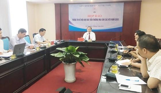 At press meeting -Photo SGGP
