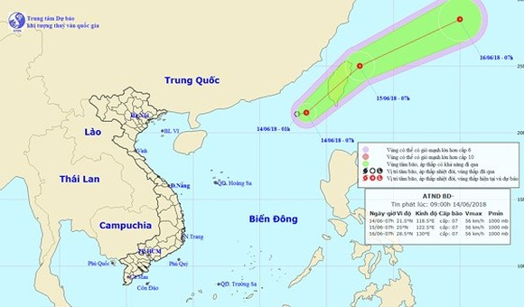 Quang Ninh to Quang Tri provinces actively cope with tropical low-pressure  ​