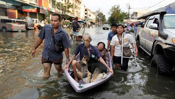 Floods still affect 78,000 people in Thailand