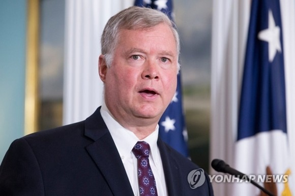 This EPA file photo shows Stephen Biegun, the U.S. special representative for North Korea. (Yonhap)