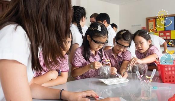 Pupils at the British International School Hanoi (Photo: nordangliaeducation.com)