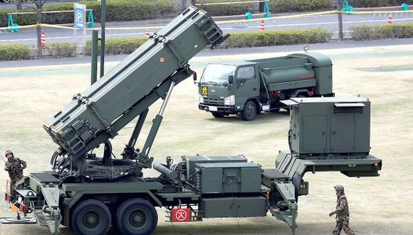 Hệ thống phòng thủ tên lửa Patriot PAC-3 của Nhật Bản