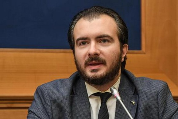 Quan chức cấp cao thuộc đảng Liên đoàn, ông Riccardo Molinari. (Nguồn: ansa.it)