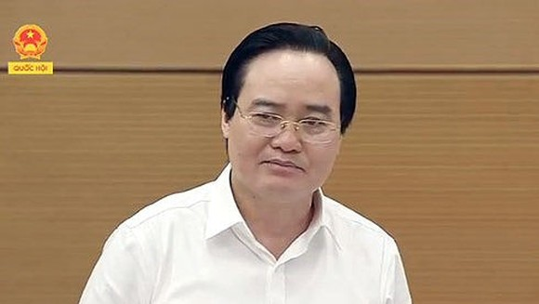 Bộ trưởng Bộ Giáo dục và Đào tạo Phùng Xuân Nhạ