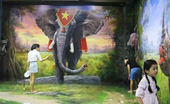 Phòng tranh nghệ thuật 3D lớn nhất Việt Nam ảnh 4