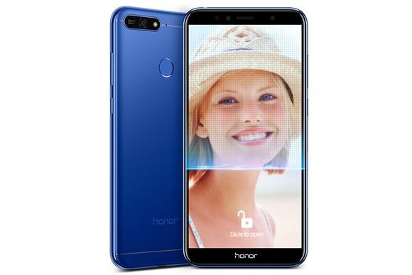 Honor 7A phổ thông nhưng vẫn nhận diện khuôn mặt