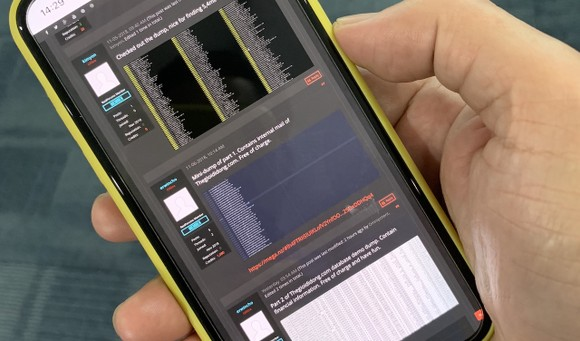 Raidforums.com cho rằng thông tin bị lộ từ Thế Giới Di Động