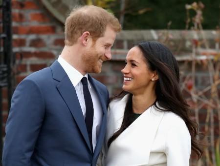 Hoàng tử Harry và vị hôn thê Meghan Markler