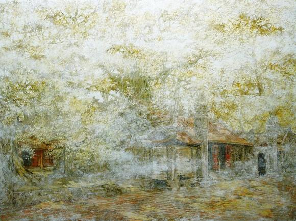 Ngỡ ngàng với miền cổ tích của họa sĩ Nguyễn Quốc Huy ảnh 2