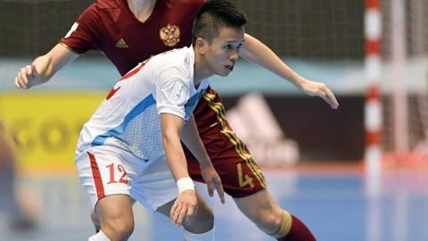 Đức Hòa ghi cả 2 bàn thắng cho ĐT futsal Việt Nam