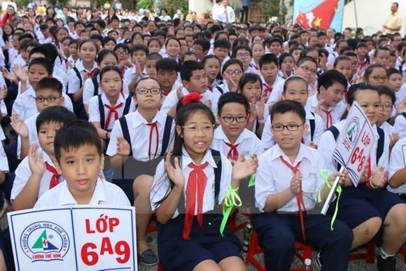 President congratulates students on new school year (Photo: VNA)