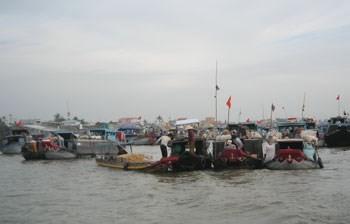 Cai Rang floating market (Photo:KK)