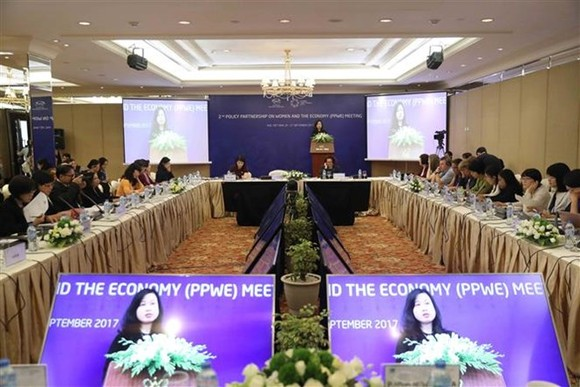 The second APEC Policy Partnership on Women and the Economy (PPWE 2) Meeting kicks off in Hue city (Source: VNA)