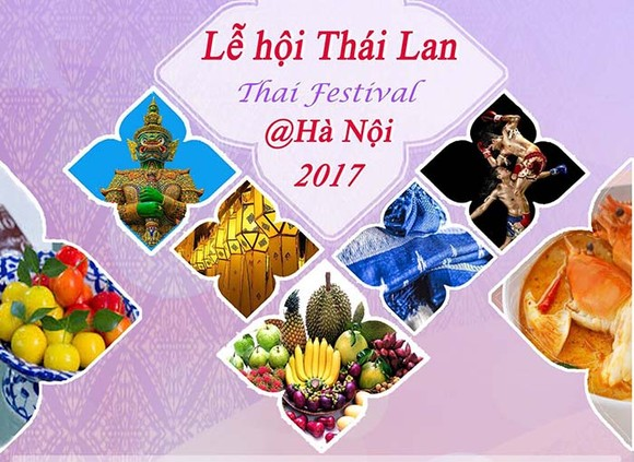 Thai Festival 2017 kicks off in Hanoi