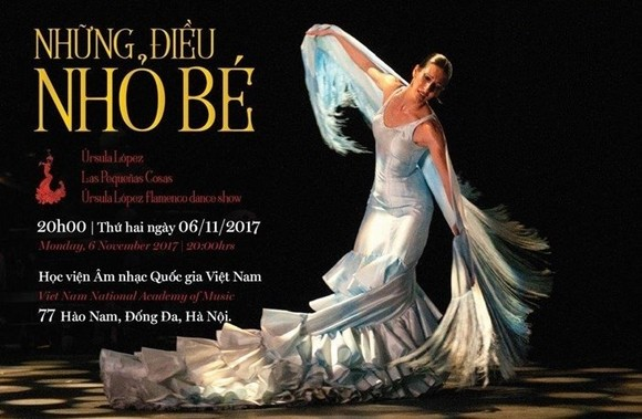 World-class flamenco dance show in Hanoi