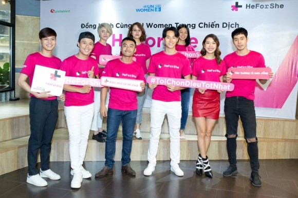 """HeForShe"" campaign launched in HCM City"