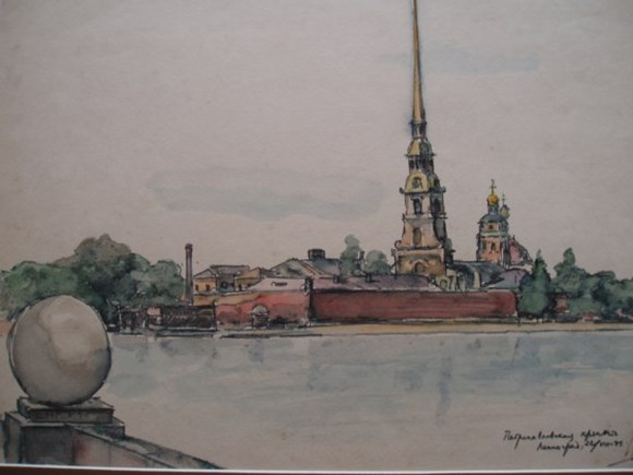 Fine arts exhibition celebrates Russian October Revolution