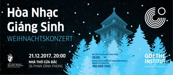 Joining Christmas charity concert for the poor