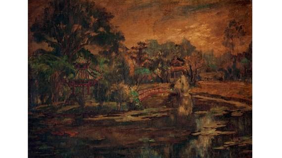 """""""lLake in the Saigon Zoo and Botanical Gardens"""" by Hieu De"""