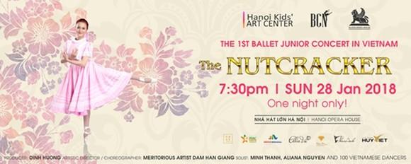 "Over 100 child dancers to perform in Tchaikovsky ballet ""Nutcracker"""