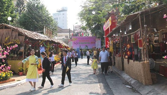 Can Tho hosts spring festival celebrating lunar New Year