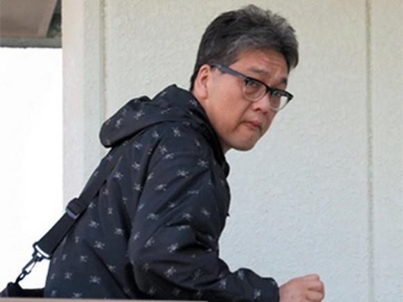 Suspect of the case, Shibuya Yasumasa. (Source: Asahi Shimbun)