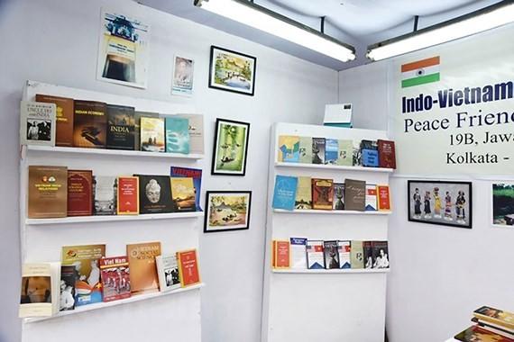 Vietnamese booth at the ongoing 42nd International Kolkata Book Fair
