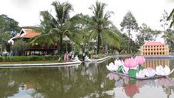 Nguyen Sinh Sac Relic Site in Cao Lanh City in the Mekong Delta province of Dong Thap